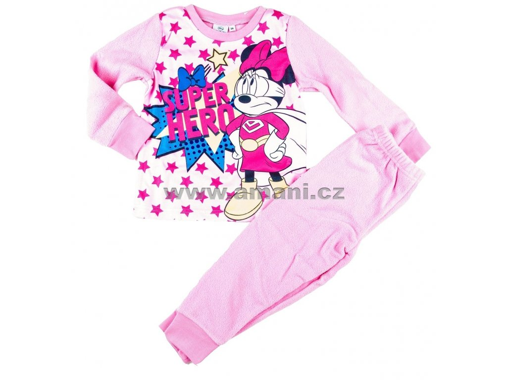 Pyžamo fleece MINNIE