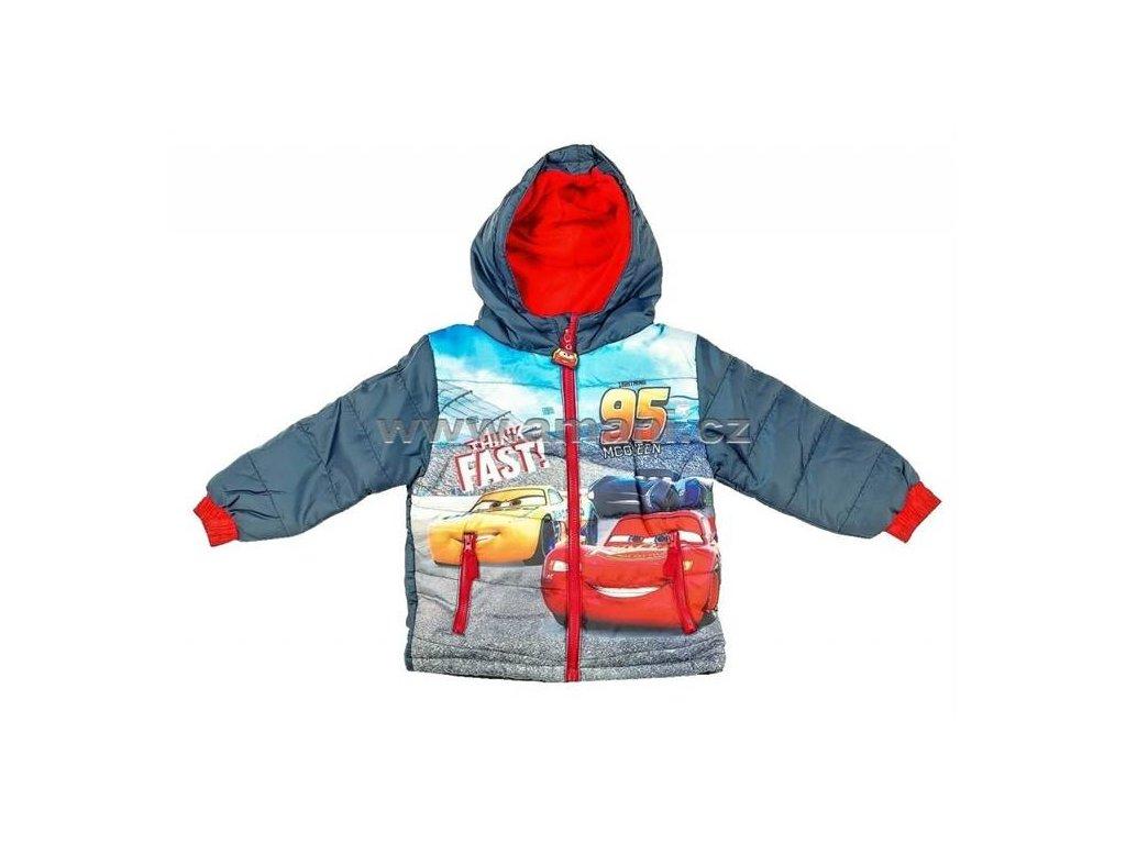Zimní bunda CARS modrá
