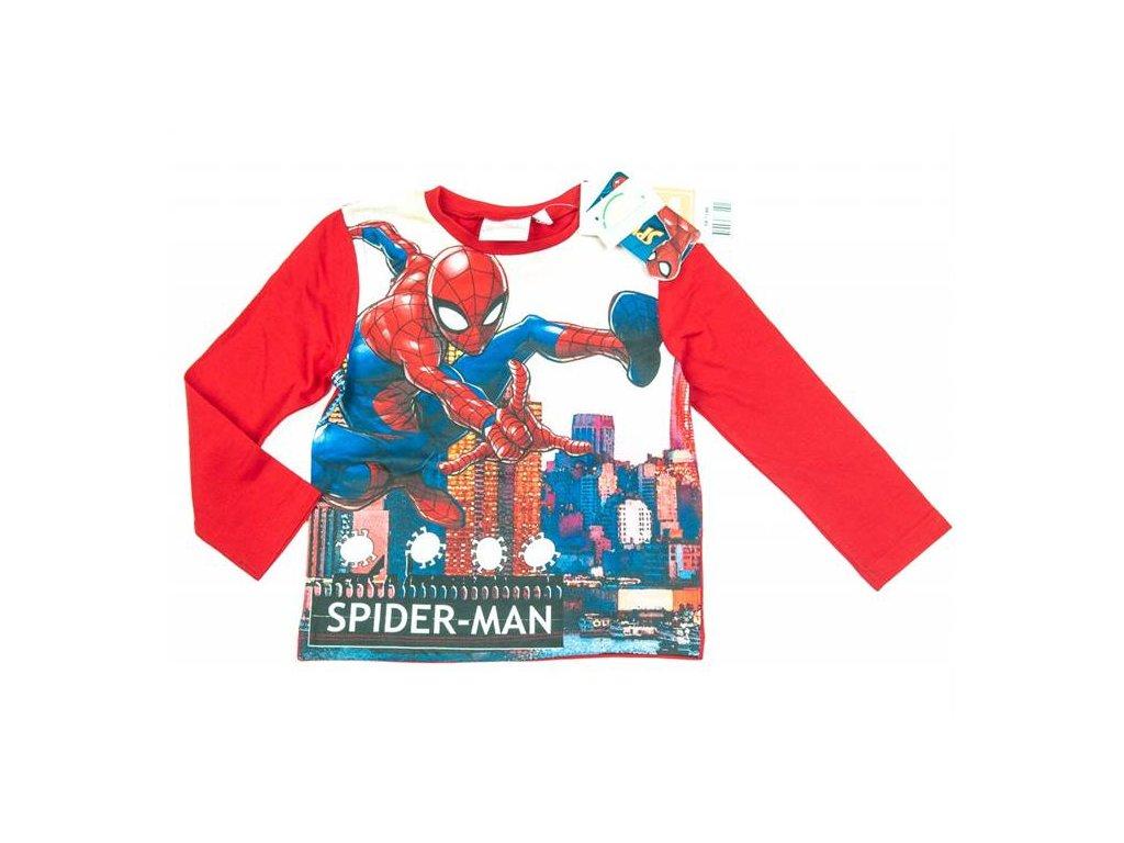 Tričko SPIDERMAN červené