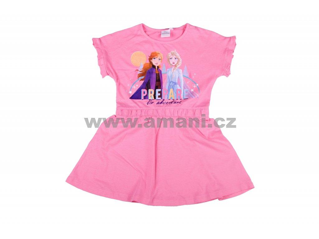 Šaty FROZEN růžové