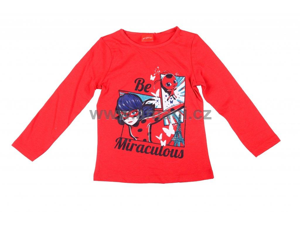 Tričko LADY BUG červené
