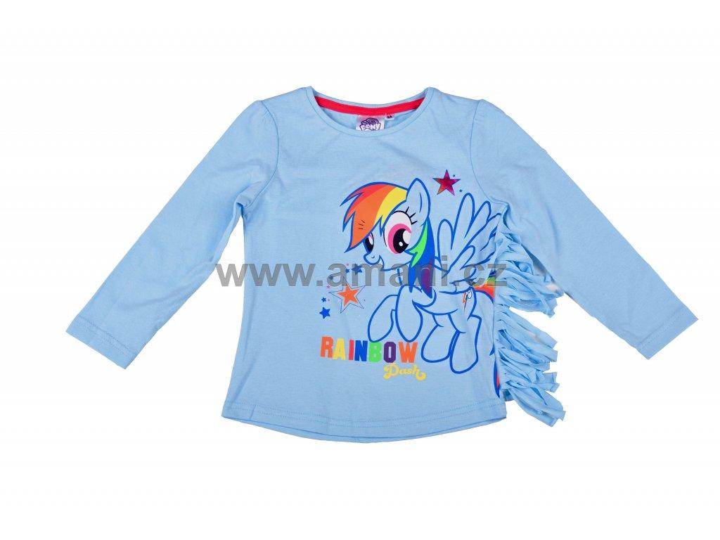 Tričko MY LITTLE PONY sv. modré