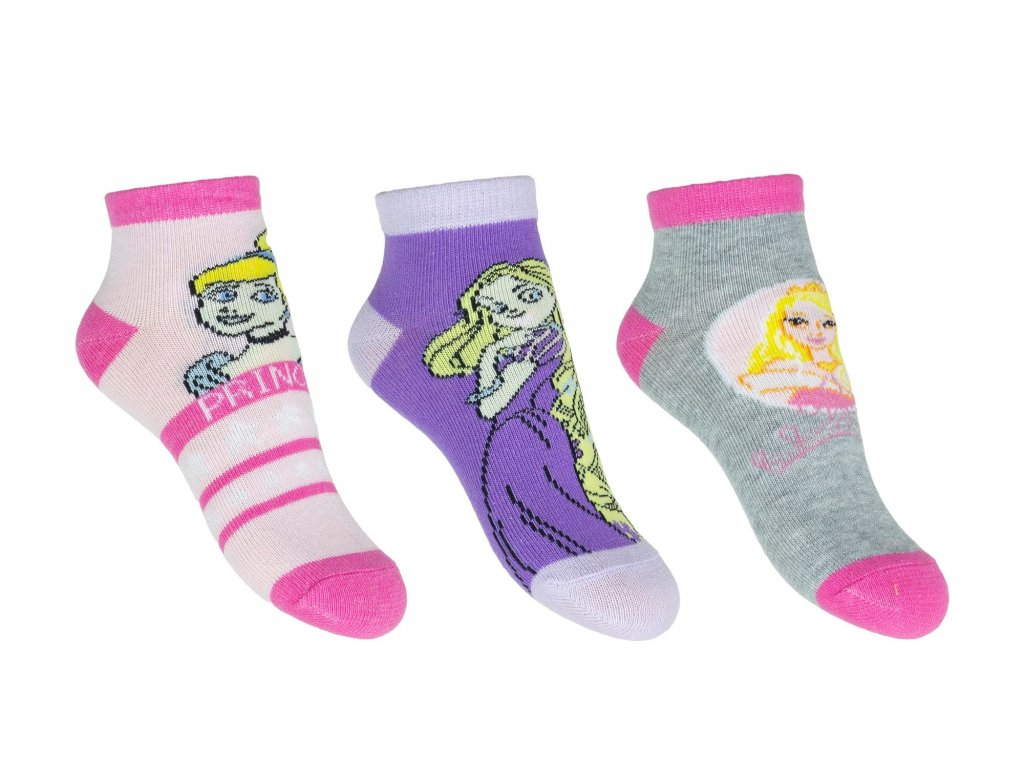 er0681 ankle socks for girls wholesale disney princess characters – kopie
