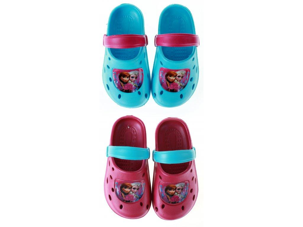 Sandály typu crocs FROZEN