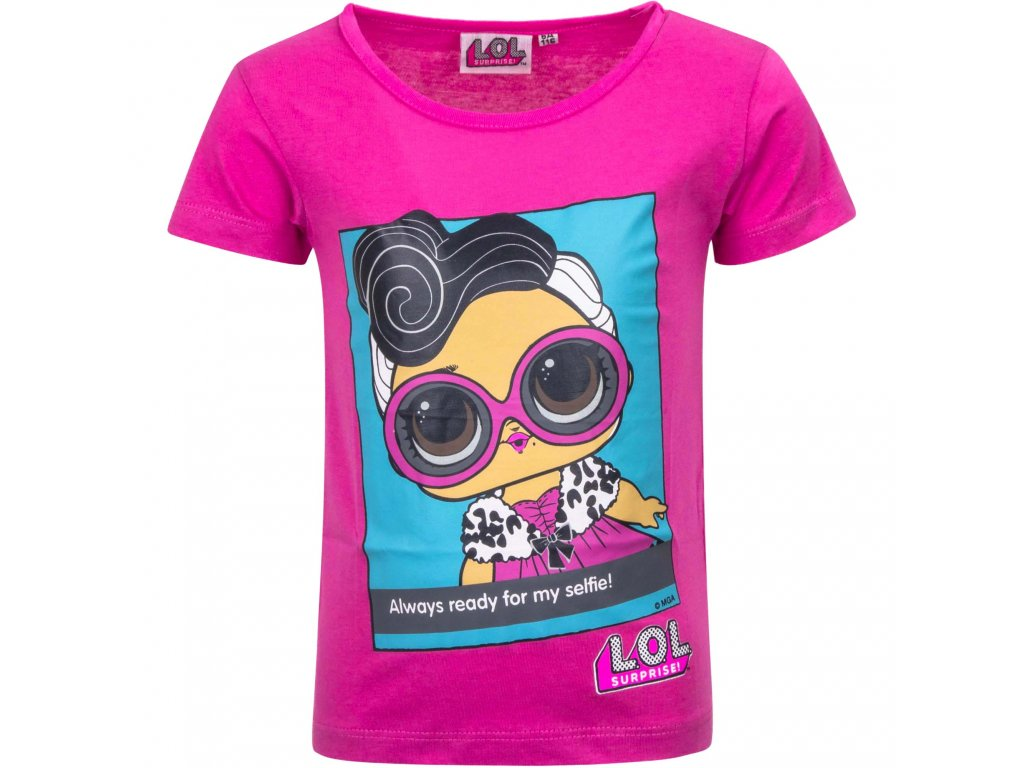 wholesale licensed lol surprise tshirts for girls 2