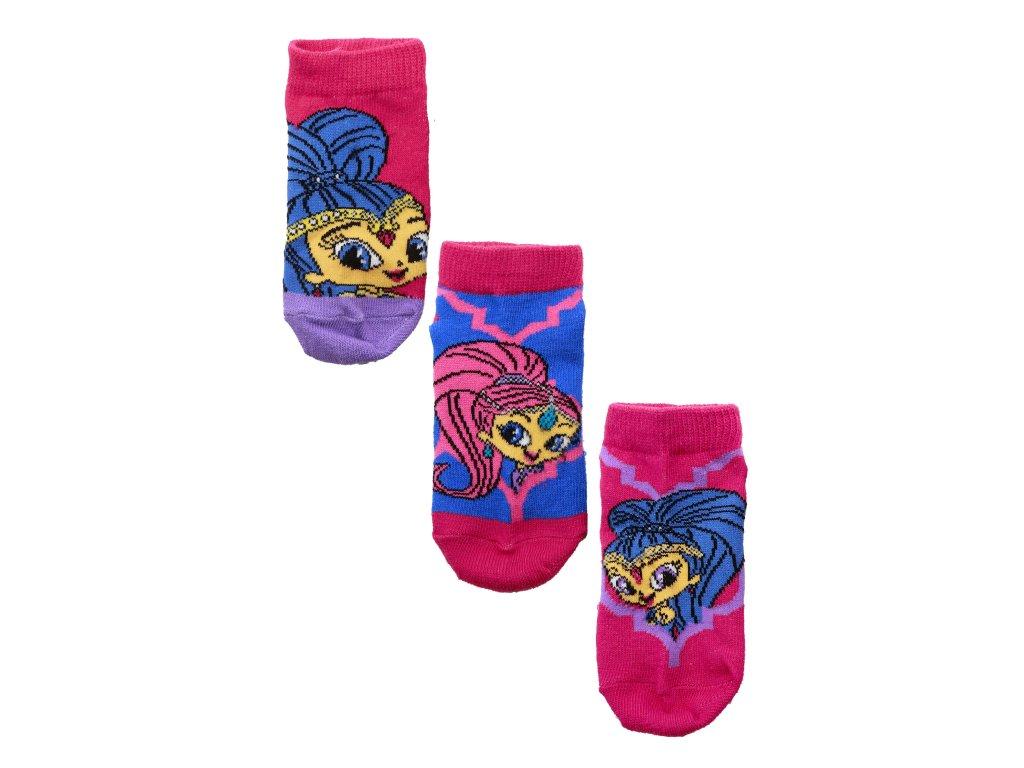 Kotníčkové ponožky SHIMMER AND SHINE