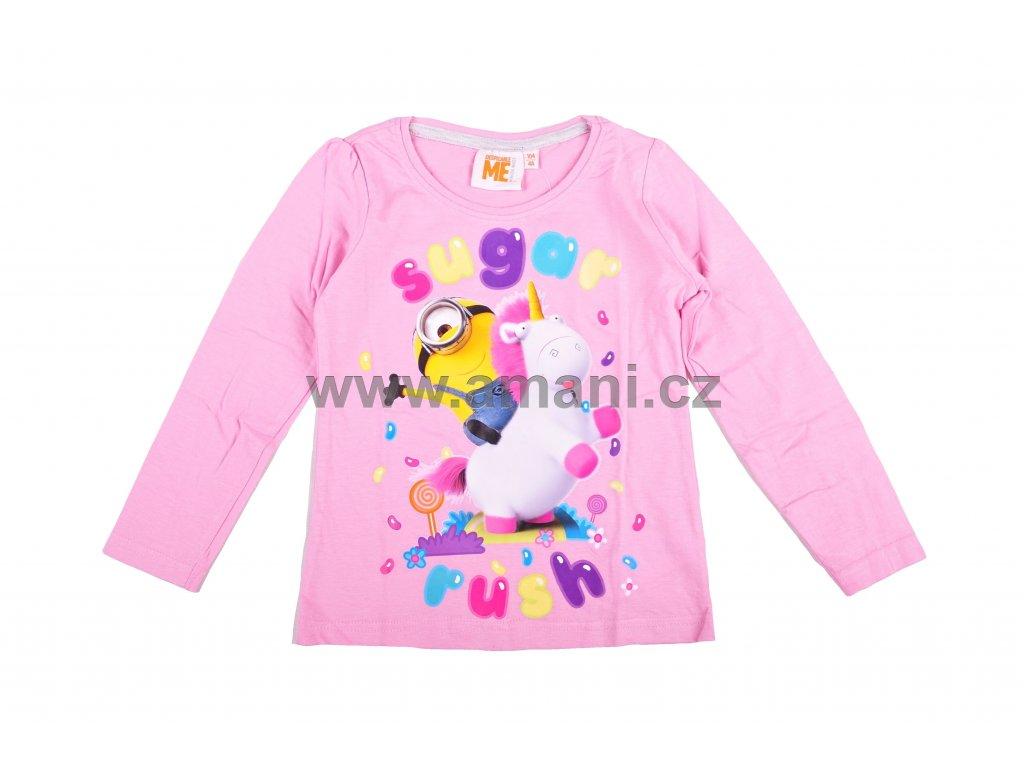 Tričko MIMONI dívčí růžové