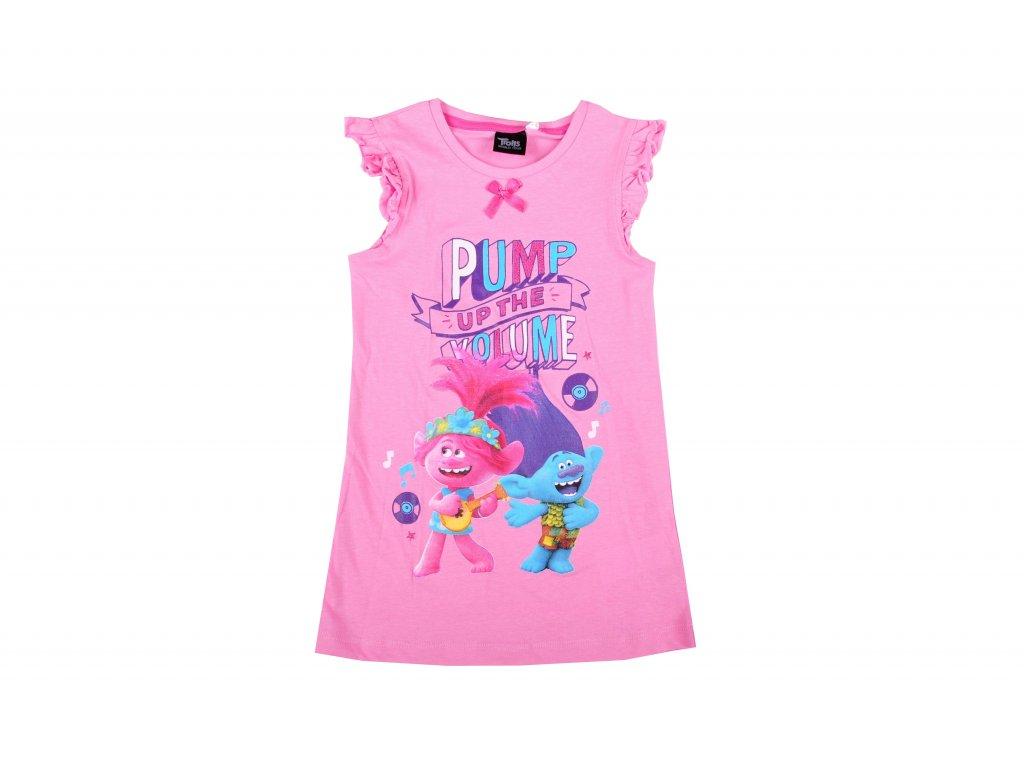 Noční košilka TROLLOVÉ sv. růžová