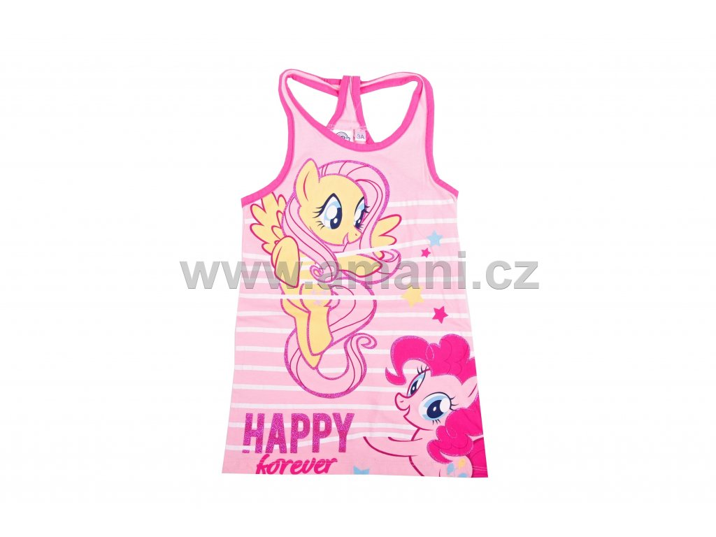 Letní šaty MY LITTLE PONY růžové