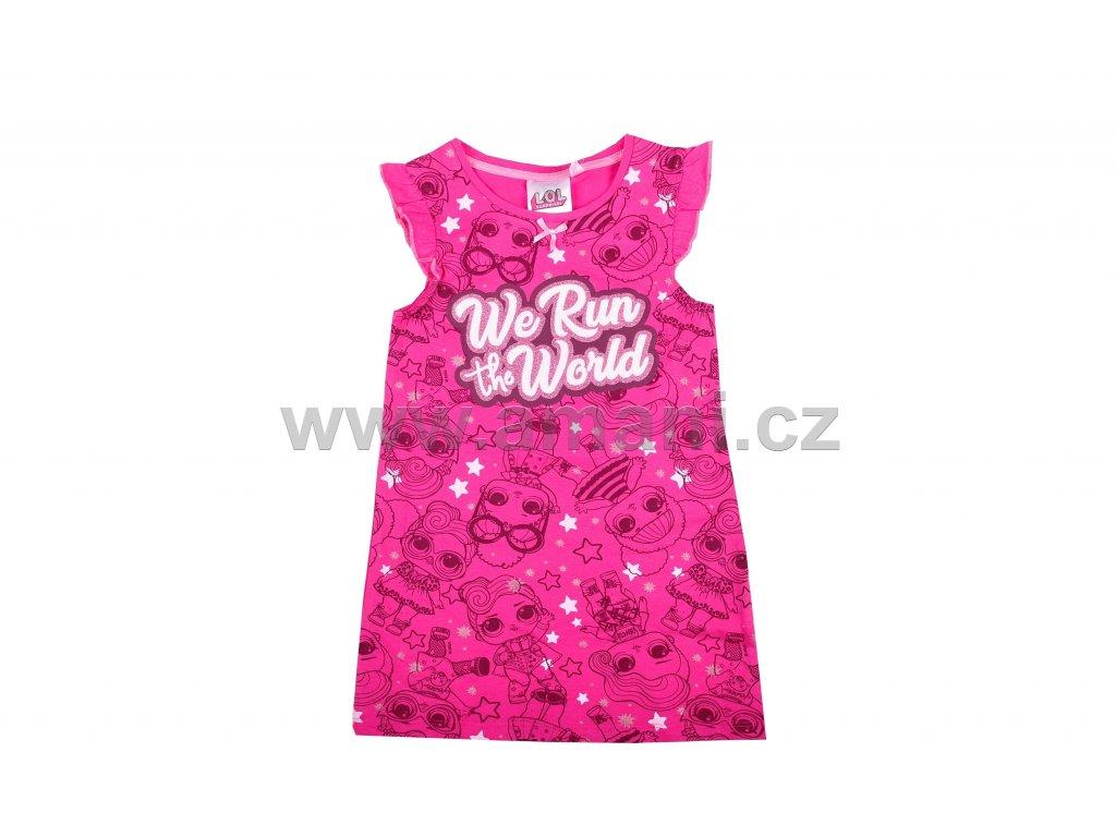 Noční košilka LOL růžová