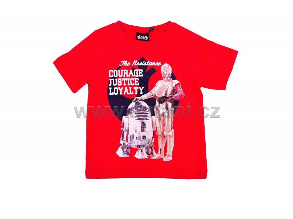 Tričko STAR WARS červené