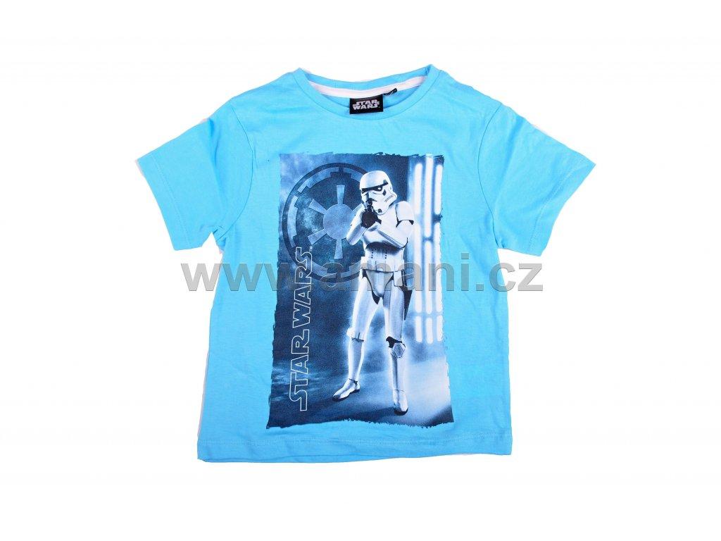 Tričko STAR WARS modré