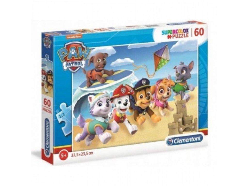 puzzle 60 elementow super kolor psi patrol
