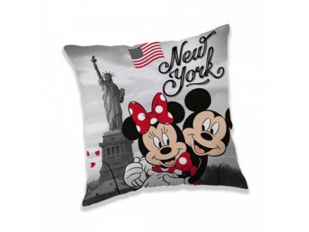 mickey a minnie v new yorku poduszka
