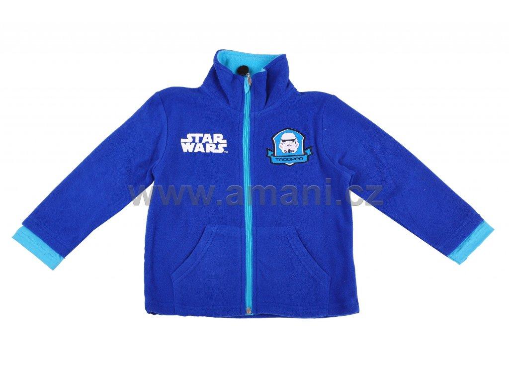 Mikina STAR WARS modrá