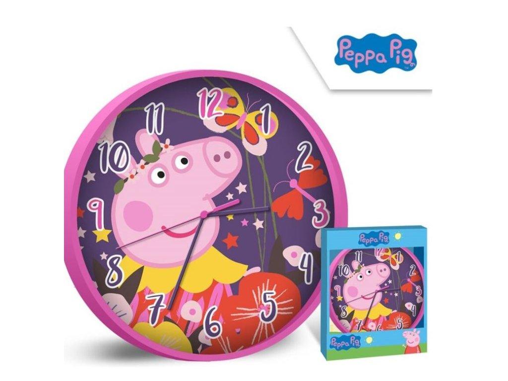 Nástěnné hodiny PEPPA PIG