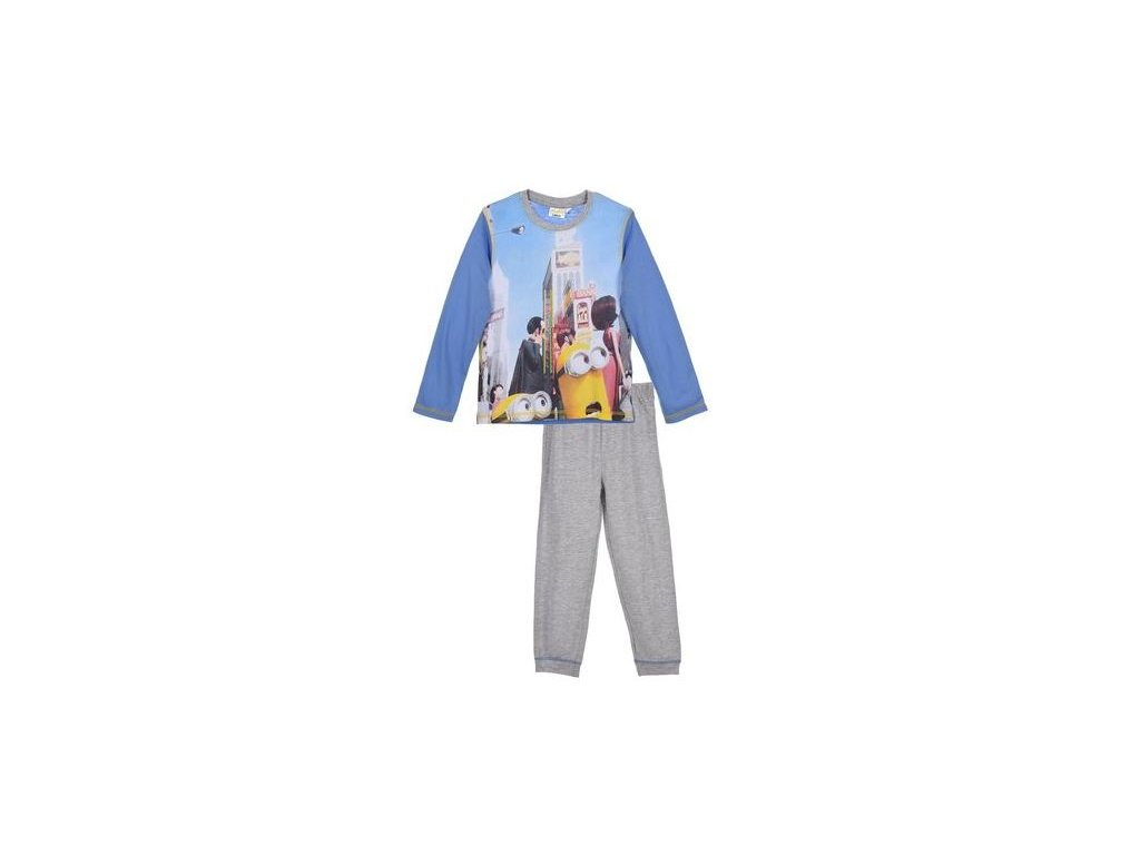 Pyžamo MIMONI chlapecké modré
