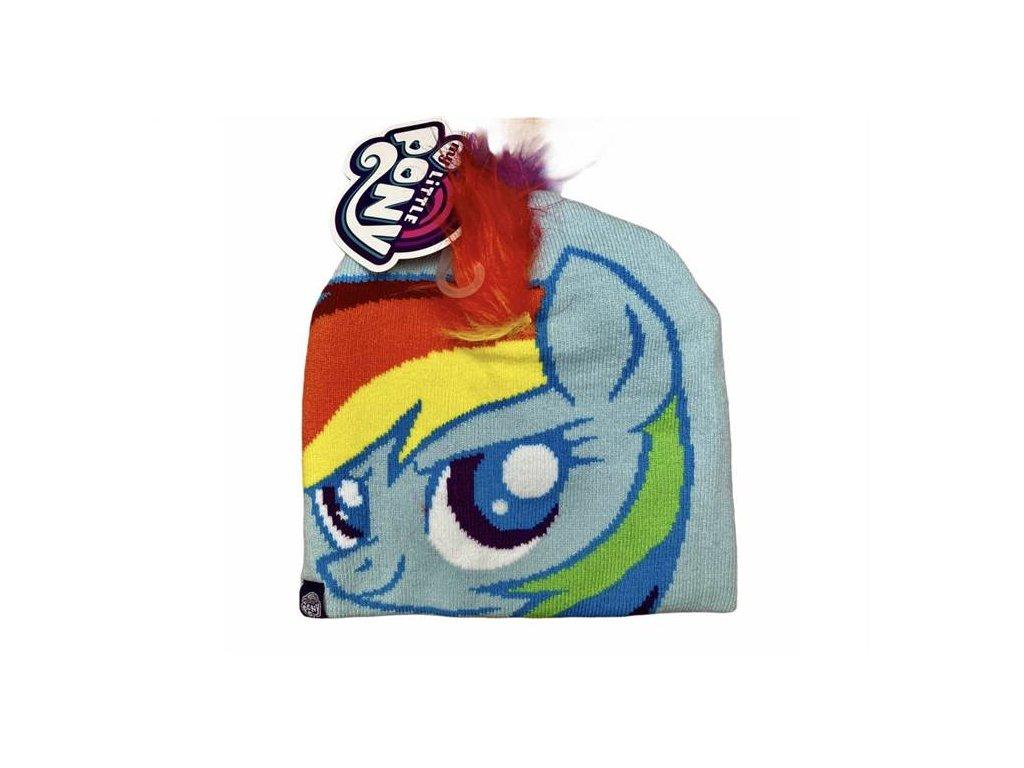 Zimní čepice MY LITTLE PONY Rainbow Dash
