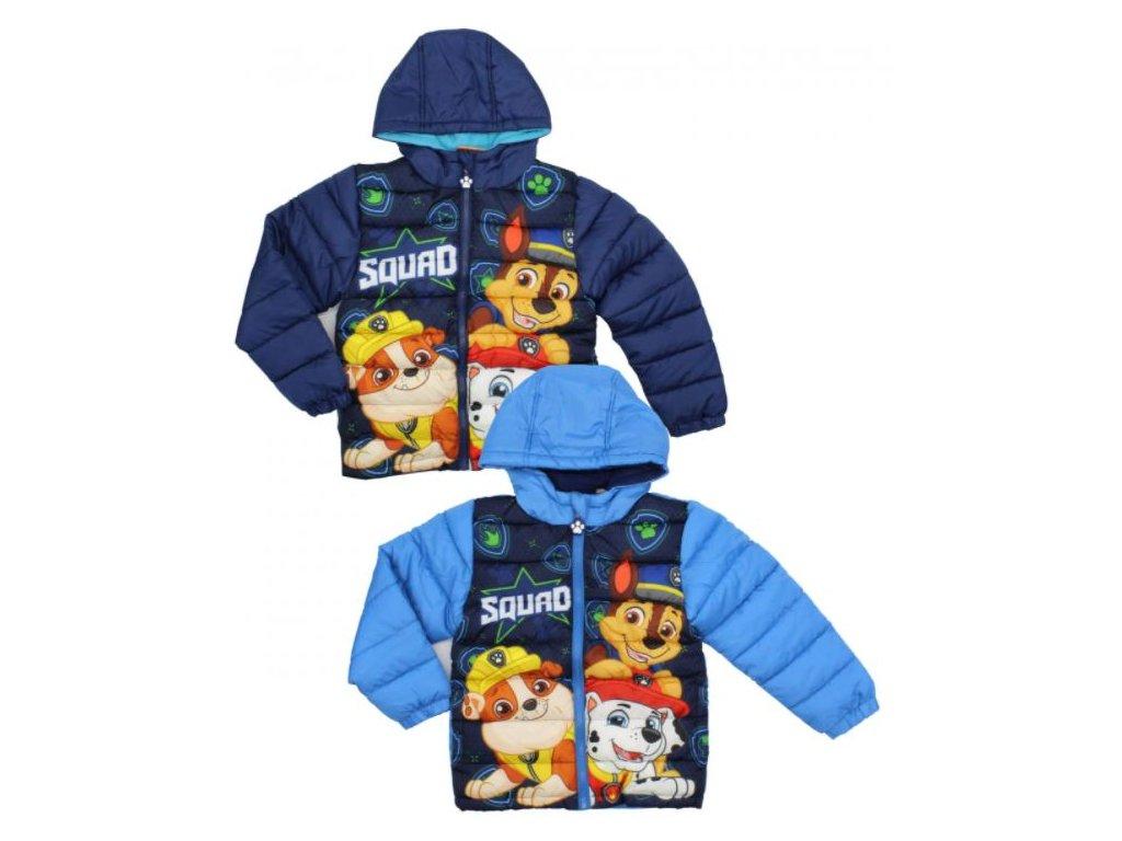 Teplá zimní bunda TLAPKOVÁ PATROLA chlapecká