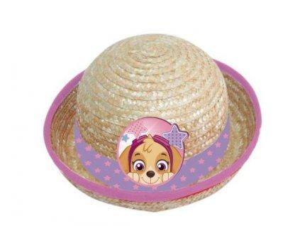 Slaměný klobouk TLAPKOVÁ PATROLA