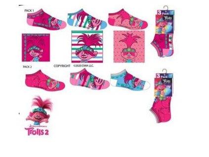 Kotníčkové ponožky 3 pack TROLLOVÉ