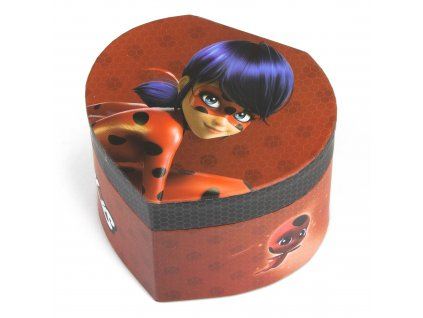 lb17027 miraculous ladybug juwelry box wholesale supplier
