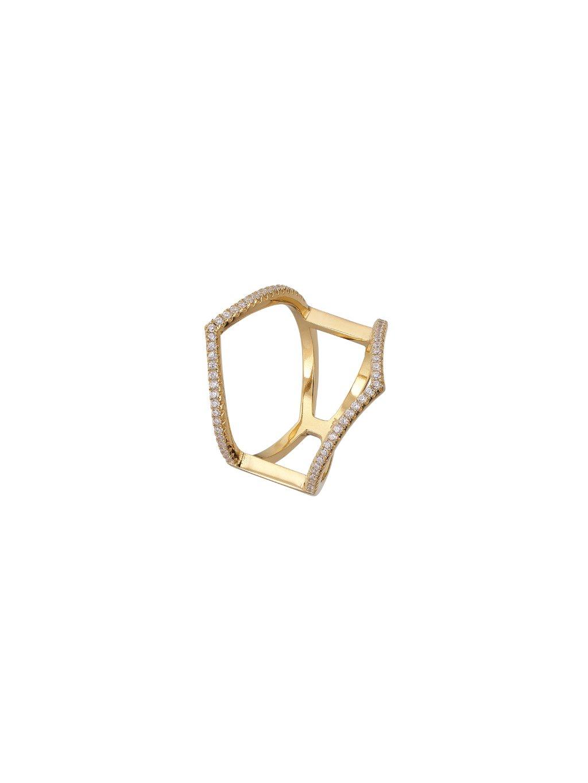 Prsten Victory pozlacený 18kt zlatem
