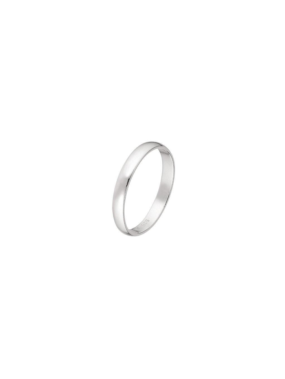 Stříbrný Clarity prsten