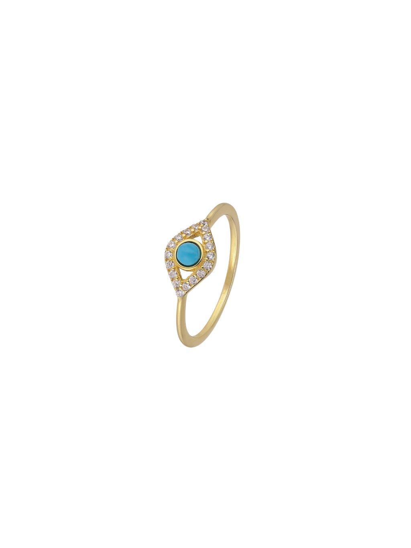 Prsten Multi Fire pozlacený 18kt zlatem