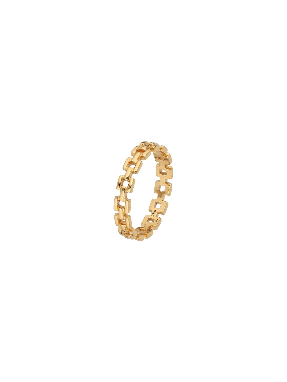 Prsten Clarity pozlacený 18kt zlatem