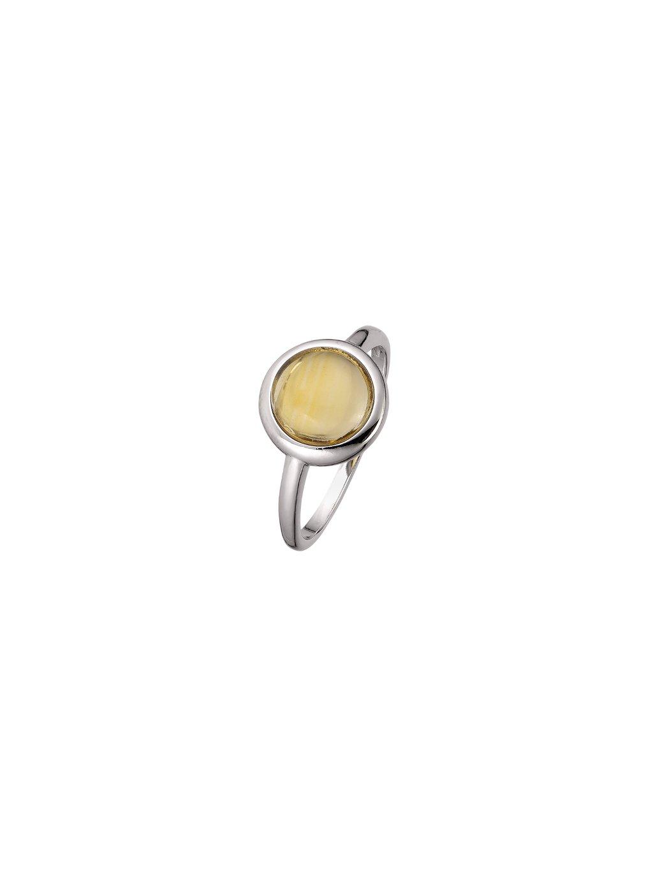 Citrine Confetti prsten