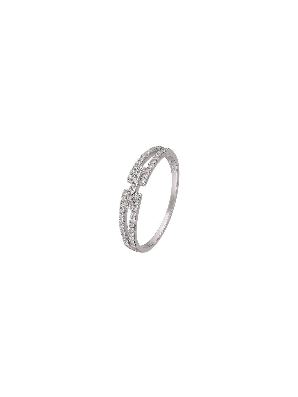 Stříbrný Eternity prsten
