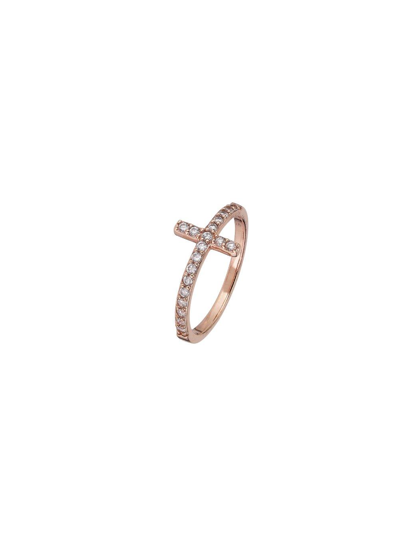 Prsten  Harmony pozlacený 18kt růžovým zlatem