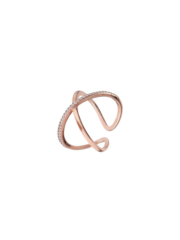 Prsten Victory pozlacený 18kt růžovým zlatem