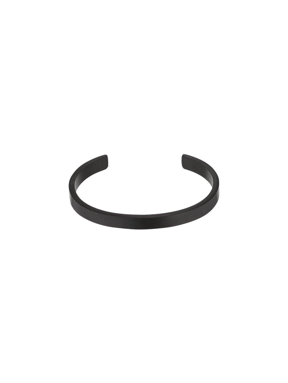 Černý jednoduchý True Essentials náramek