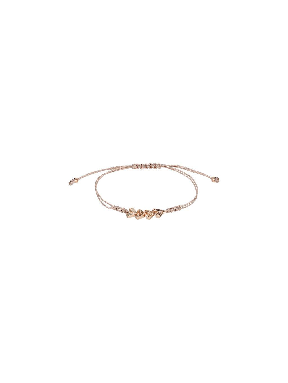 Náramek Carousel pozlacený 18kt růžovým zlatem