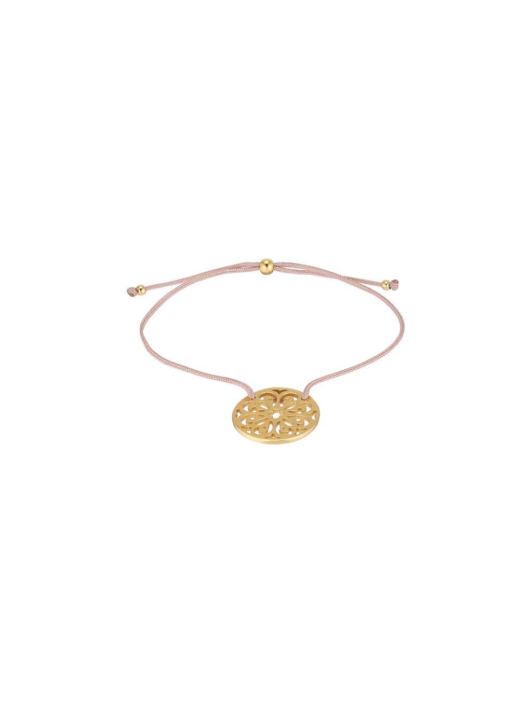 Náramek Carousel pozlacený 18kt zlatem