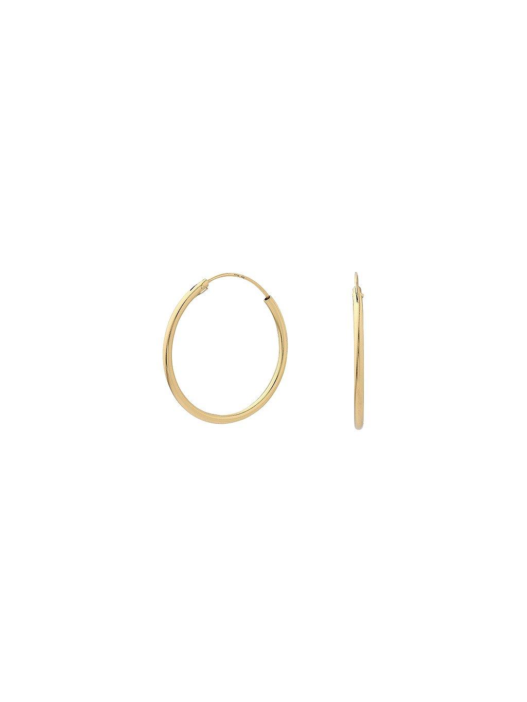 Náušnice True Essentials pozlacené 18kt zlatem