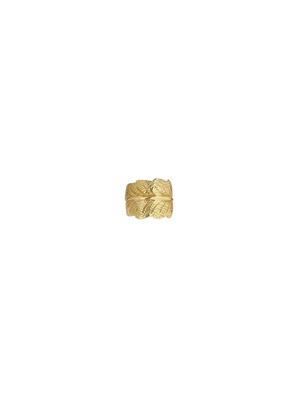 Clip na ucho pozlacený 18kt zlatem
