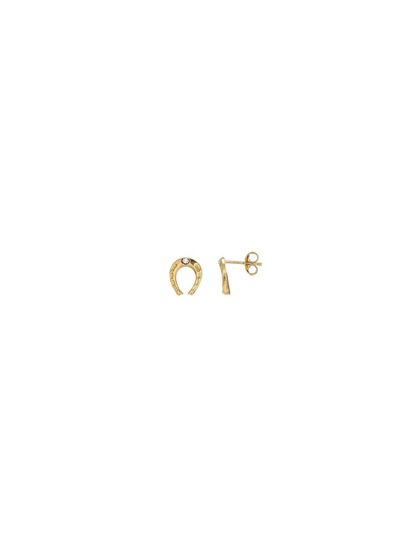 Náušnice Harmony pozlacené 18kt zlatem