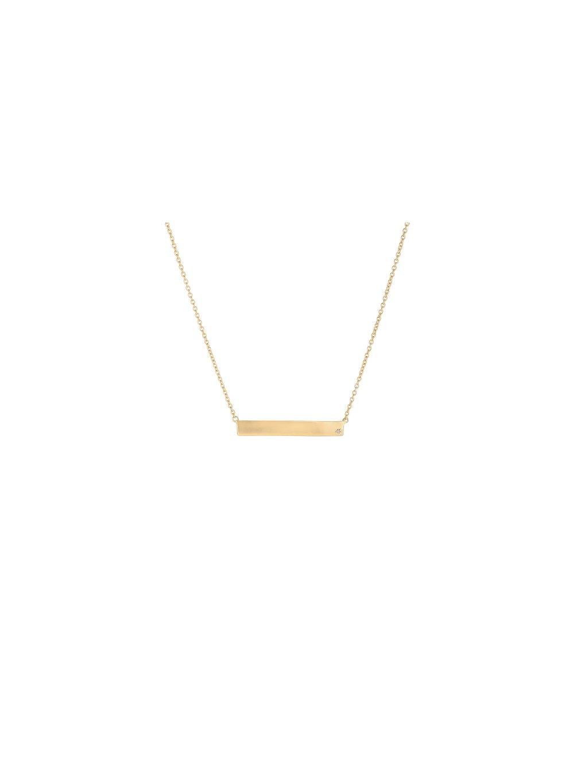 Náhrdelník Forever Diamonds s diamantem pozlacený 18kt zlatem