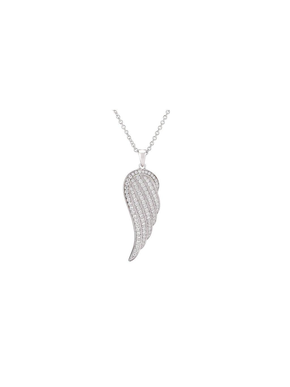 Stříbrný Faith náhrdelník