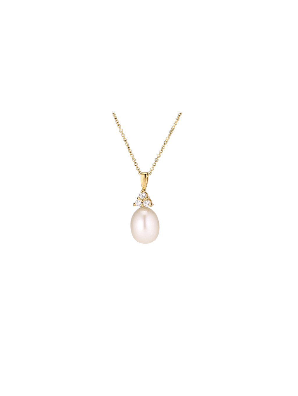 Náhrdelník multi Pearls pozlacený 18kt zlatem