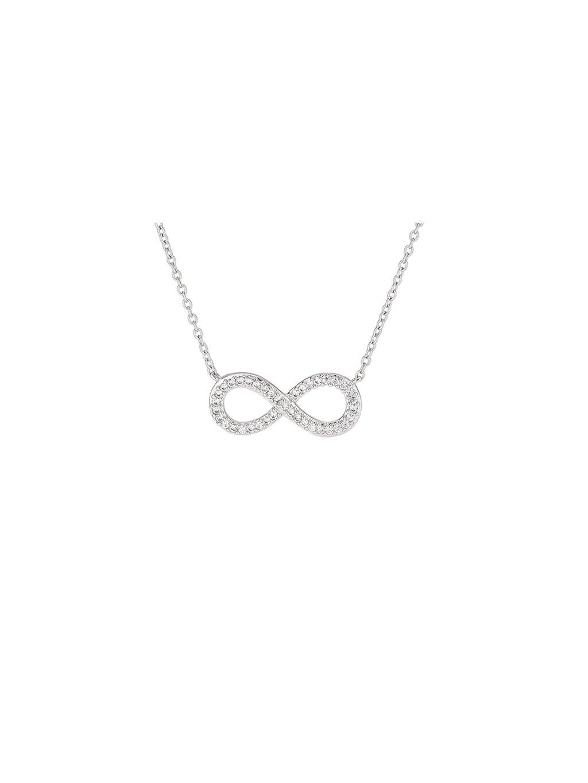Stříbrný Infinity náhrdelník