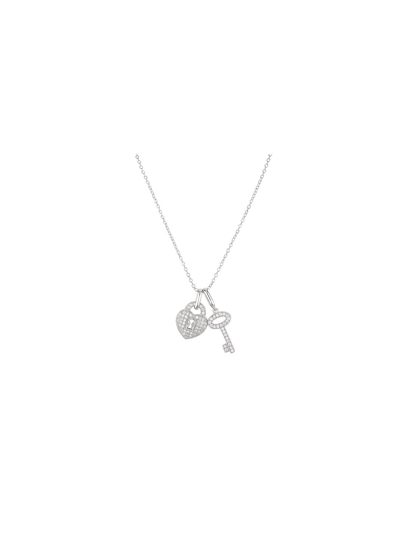 Stříbrný Pure Love náhrdelník