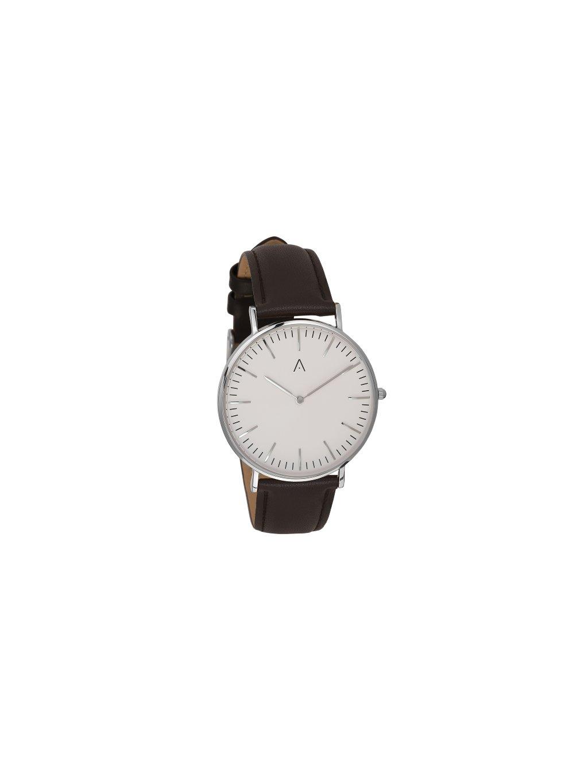 Klasické stříbrné hodinky
