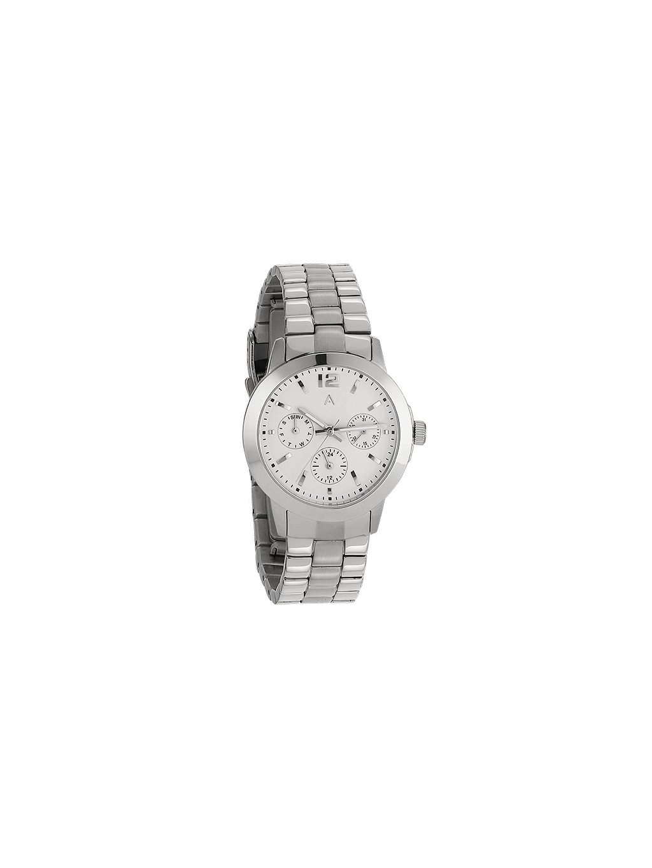 Jednoduché sříbrné hodinky