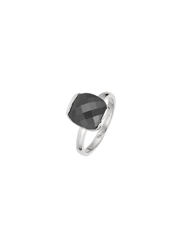 Prsten Ebony s černým zirkonem