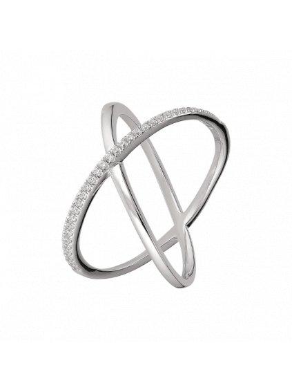 Stříbrný Victory prsten