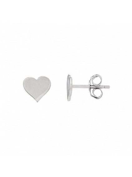 Stříbrné Pure Love náušnice